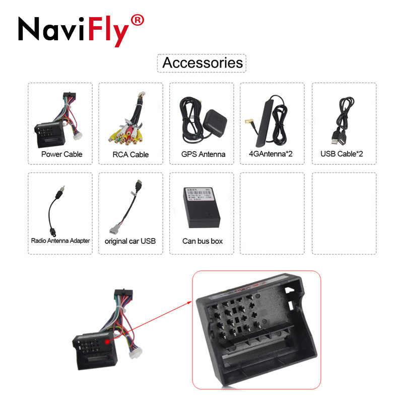 NaviFly Android 7,1 dvd-плеер автомобиля для peugeot 308 peugeot 408 с gps Navi 4G WI-FI 1024*600 BT камера-видеорегистратор 1080 P видео RDS