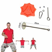 Gym Fitness Finger Strengthener Forearm Lifting Trainer Hand Gripper Power Strength Exerciser Arm Waist Weight Lifting Equipment