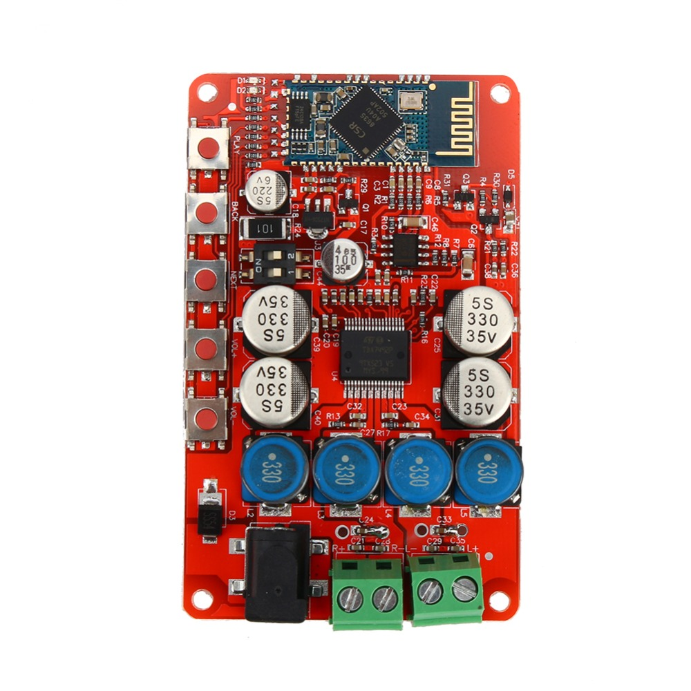 Wireless Bluetooth 4 0 Audio Receiver Digital TDA7492P 25W 25W font b Amplifier b font Board