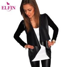 Fashion Autumn Jacket Slim Black Women Basic Coat Long Sleeve Office Wear Women Clothing LJ5297R