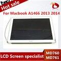 """Nueva Original Para estrenar original Para Macbook Air 13 """"A1466 LCD Asamblea de Pantalla Para Año 2013 2014 MD760 MD761 661-7475"""