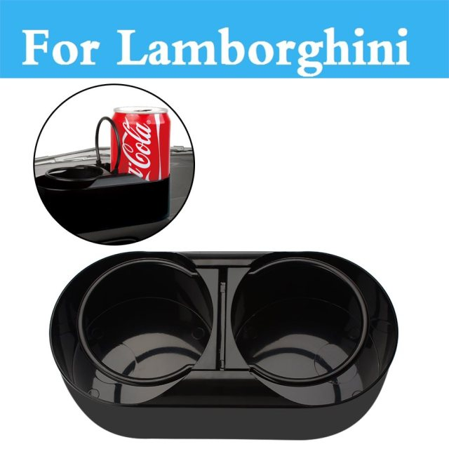 Car Drink Water Cup Holder Beverage Cup Glove Clip For Lamborghini  Murcielago Reventon Sesto Elemento Veneno
