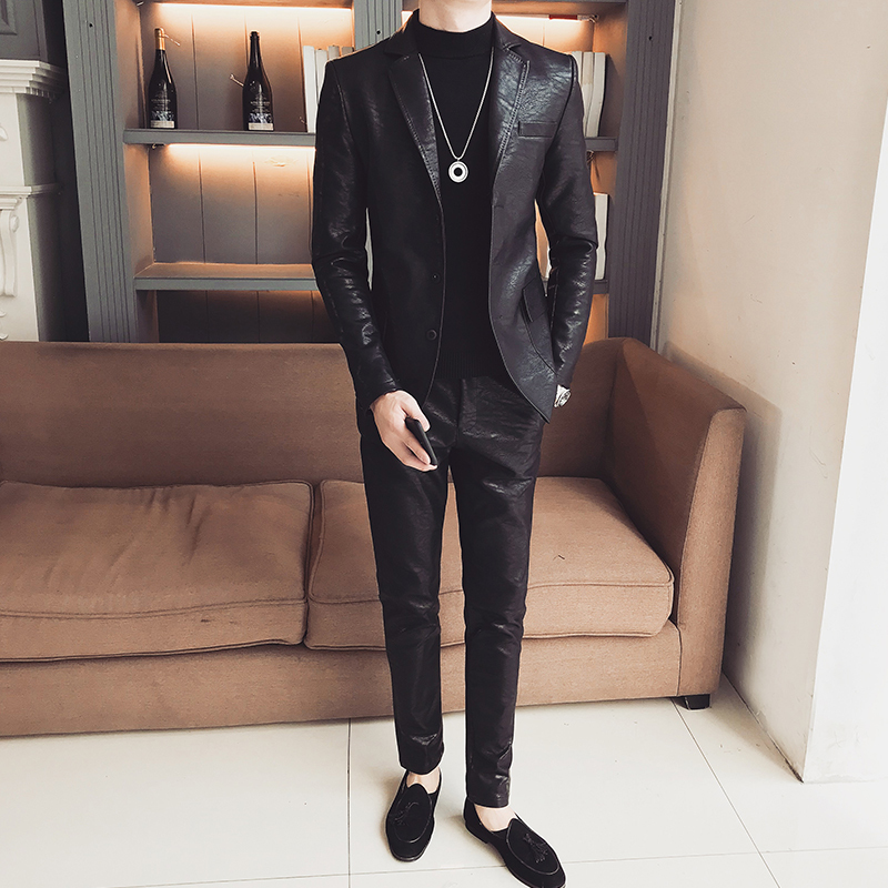 Elegant Grey Men Suit Prom Tuxedo Slim Fit 3 Piece Jacket Vest Pants Groom Wedding Suits