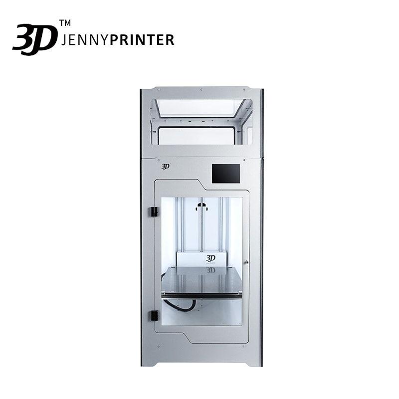 2019 Mais Novo! Montado JennyPrinter4 Z370 Dupla Extrusora Impressora de Alta Precisão E Grande Volume 3D Estendido Para Ultimaker 2 UM2 +