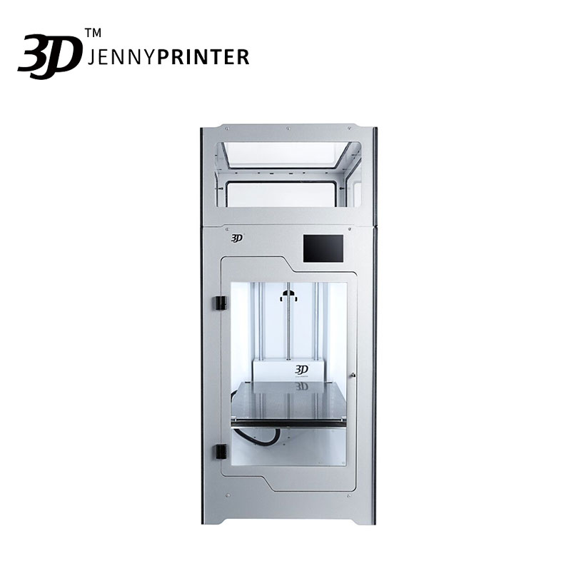 2019 Newest Assembled JennyPrinter4 Z370 Dual Extruder High Precision And Big Volume 3D Printer Extended For