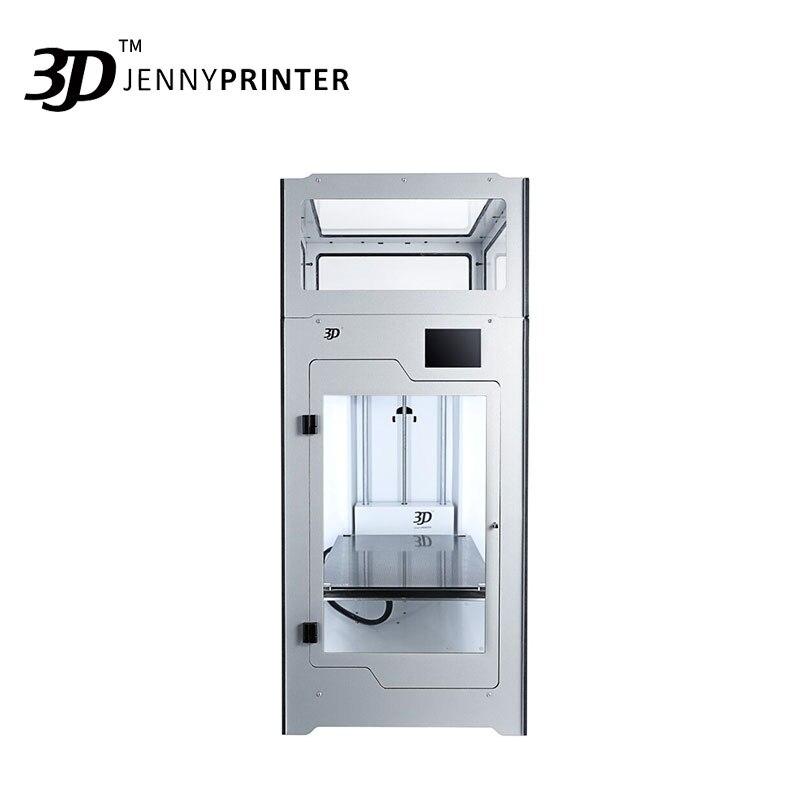2019 il Più Nuovo! Assemblato JennyPrinter4 Z370 Dual Estrusore Ad Alta Precisione E Grande Volume di 3D Stampante Estesa Per Ultimaker 2 UM2 +