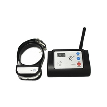 Wireless Electronic Pet Fence System Waterproof And Rechargeable Shock Dog Training Collar цена