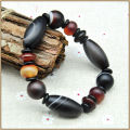 Yumten 2017 Fine Bracelets For Women Men Jeweley Stone Natural Bead Bracelet Women Crystal Natural Agate Black Bracelets Jeweley