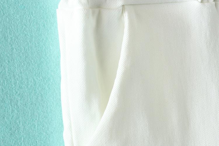 Pantallona me lapsa elastike Gratë krejt të reja Rastesishme Plus - Veshje për femra - Foto 6