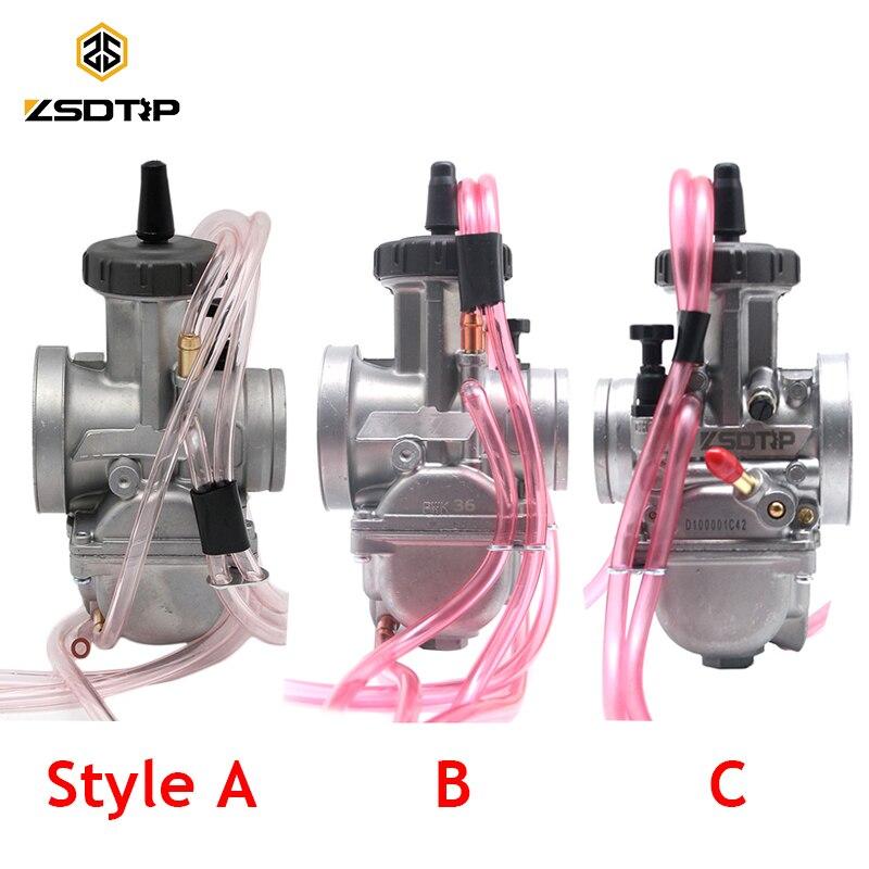 ZSDTRP Universal 33 34 35 36 38 40 42mm ZSDTRP PWK KEIHIN Carburador Motorcycle Carburetor For