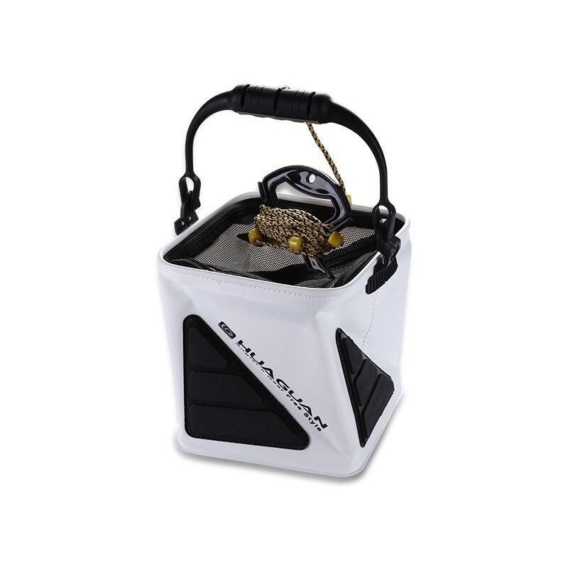 New piece bucket outdoor fishing fixed protection folding handle slippery bucket folding sale 030|Buckets| |  - title=