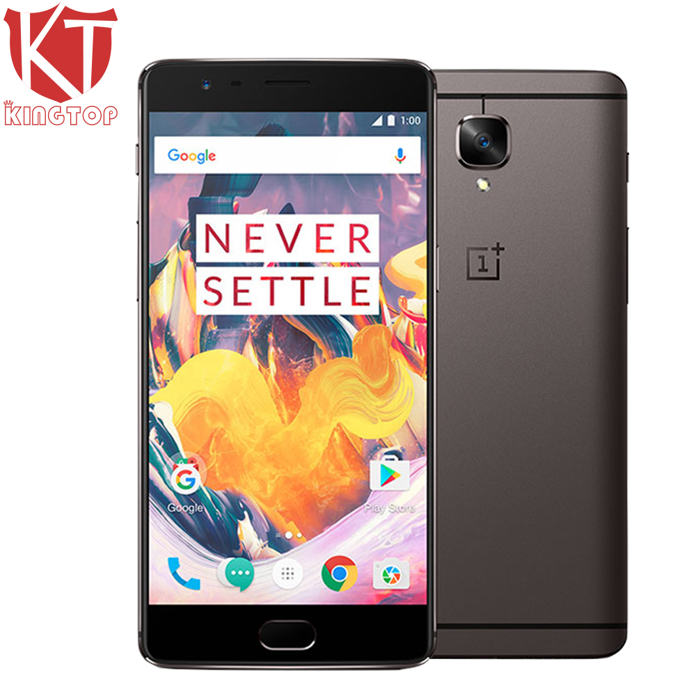 Original OnePlus 3T 4G LTE Mobile Phone 6GB RAM 64GB ROM Snapdragon 821 Quad Core 5.5″ Android 6.0 16MP 3400mAh NFC Fingerprint