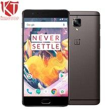 "Ursprüngliche OnePlus 3 T 4G LTE Handy 6 GB RAM 64 GB ROM Löwenmaul 821 Quad Core 5,5 ""Android 6.0 16MP 3400 mAh NFC Fingerabdruck"