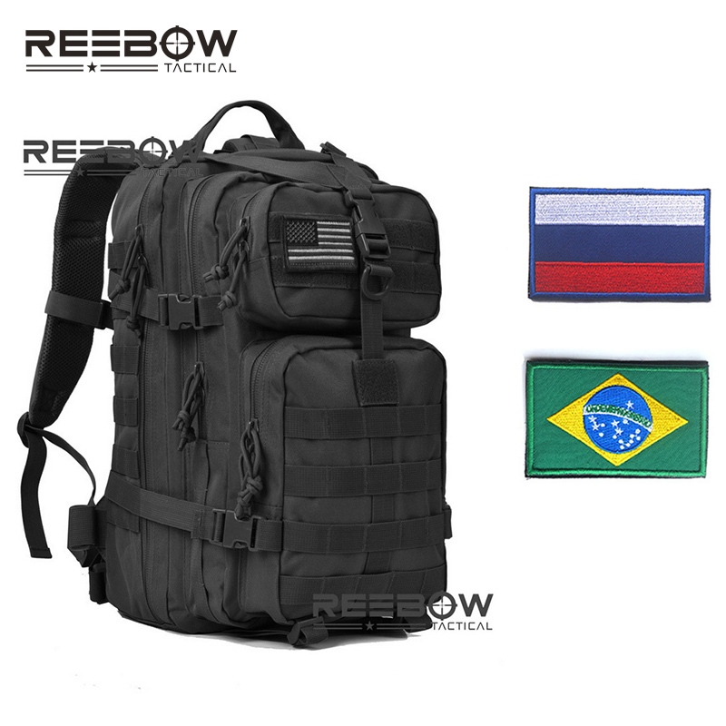 REEBOW TACTICAL Outdoor Hiking Backpacks for Military 3D Hunting Fishing Camping Trekking Rucksack image