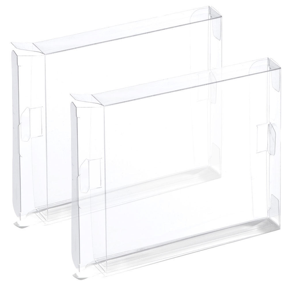 2pcs plastic display case box for Nintendo NES games-in