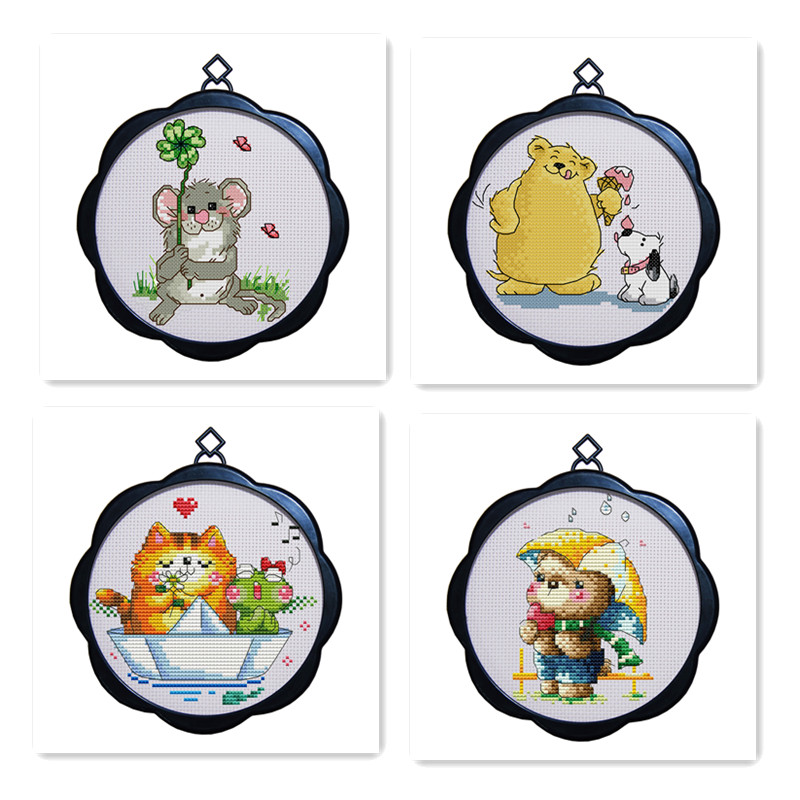 Buy cross stitch ornament frames and get free shipping on AliExpress.com