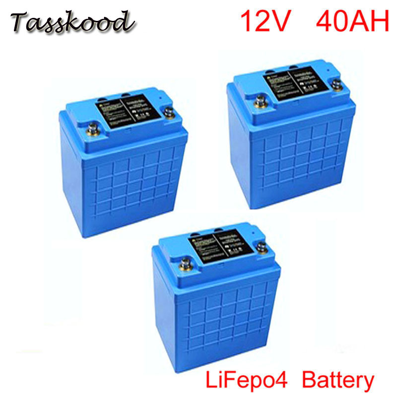 <font><b>LiFePO4</b></font> Type and 12.8V Nominal Voltage <font><b>12v</b></font> <font><b>40ah</b></font> <font><b>lifepo4</b></font> <font><b>battery</b></font> pack solar/wind energy storage image