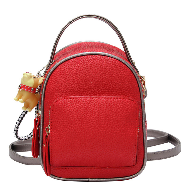 Women Cute Backpack For Teenagers Children Pu Back Pack Girls Kids