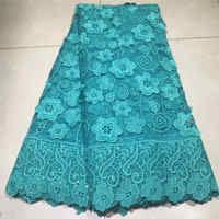 African Lace Fabric 2019 High quality Embroidery rhinestones Nigerian Lace Fabric For Women French Mesh Lace Fabric 5yards