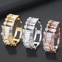 SISCATHY Charms Fingers Rings For Women Luxury Handmade Bridal Wedding Engagement Holiday Party Jewelry Accessories