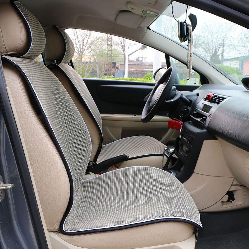 Rede de ventilação traseira do carro assento de carro de volta almofada/mat verão assento de luxo luxo/high-grade assento respirável cobrir