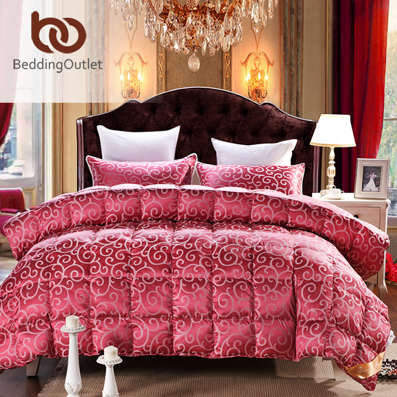 Popular Red Down Comforter Buy Cheap Red Down Comforter