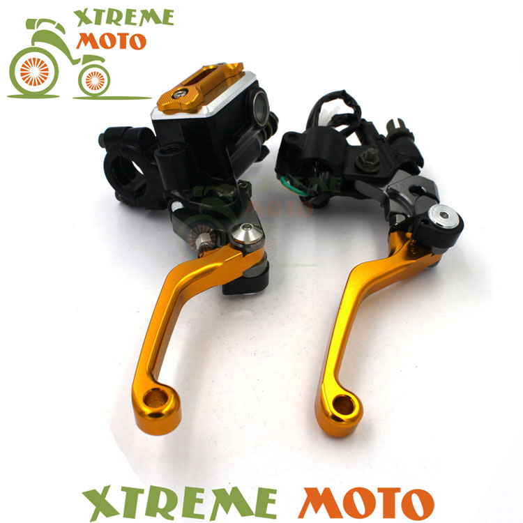 Billet Brake Lever Master <font><b>Cylinder</b></font> + Cable Clutch Perch For <font><b>Suzuki</b></font> RM85 125 <font><b>250</b></font> RMZ250 450 RMX250 DR250 DRZ400 S SM DR650 Enduro image