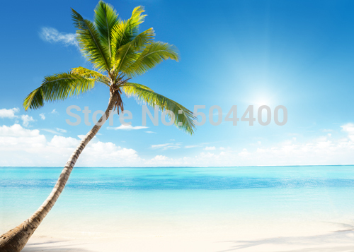 150CM*220CM Hot sale seaside beach printed photography backdrops photo studio photographic background for wedding D-3510 kate backdrop for photography beach ocean wedding series background photo studio seaside scenic backdrops