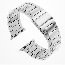 Luxury Stainless Steel Bracelet Band for Apple Watch Series 1 2 3 4 5 38mm 40mm 42mm 44mm with Adapters