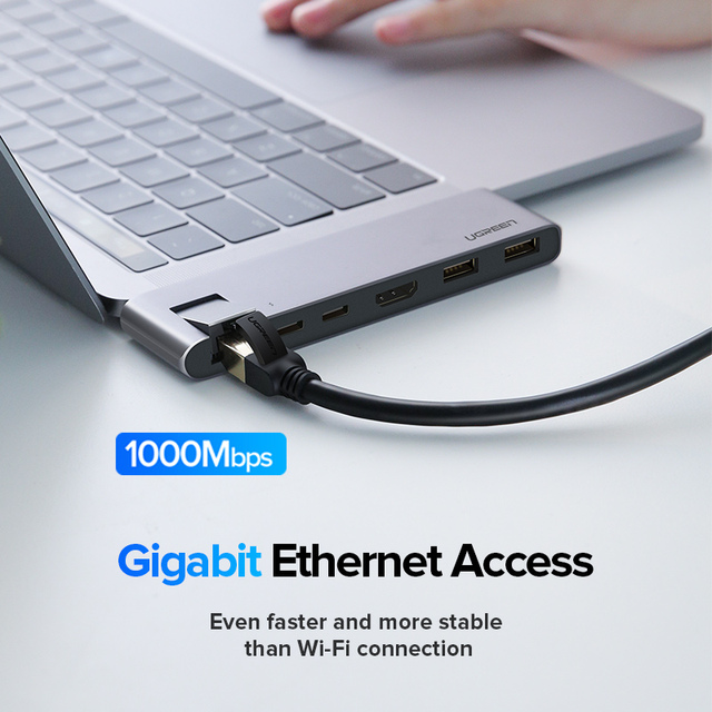 USB Dual Type C HDMI USB-C Hubs