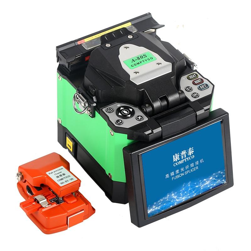 COMPTYCO A-80S FTTH волоконно-оптический сварочный аппарат для сращивания оптического волокна сварочный аппарат