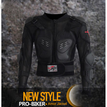 PRO-BIKER Motorcycle Armor Jacket Moto Racing Gears Armor Cross-country Riding Offroad Motorbike Cycling Body Protection M-4XL(China)