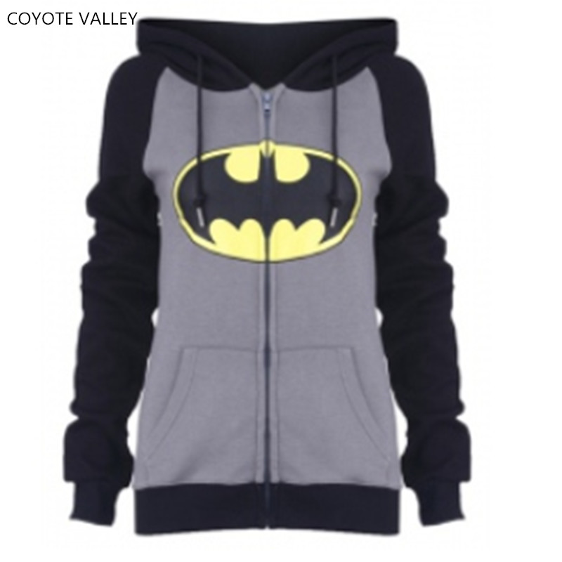 COYOTE VALLEY kawaii 2017 the new fashion leisure draw string printed jacket zipper hooded fleece jacket pocket bts