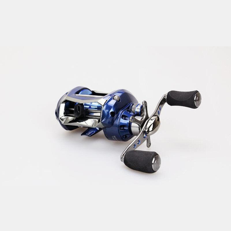 ФОТО Baitcasting reel 12+1BB ball bearings 6.2:1 carp fishing gear Left Right Hand bait casting fishing reel Fixed Spool Reel