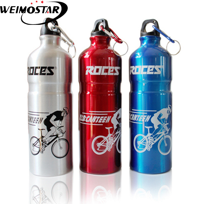 Weimostar 750ml Stainless Steel Cycling Water Bottle Mountain Bike Sport Bottle Thermal Insulation Cycling Water Bottle