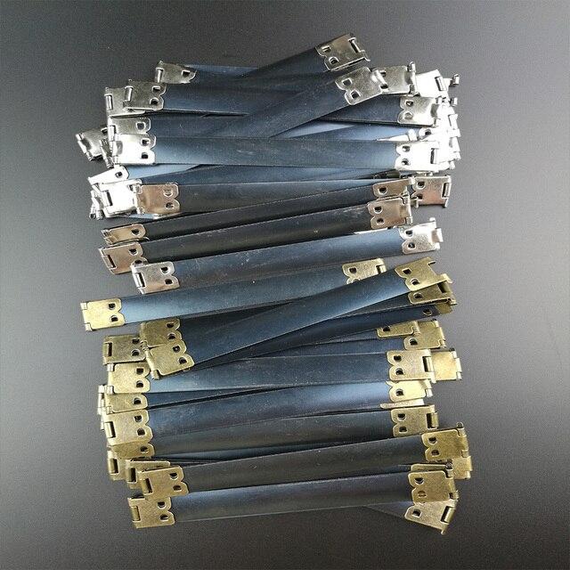 100pcs Metal Internal Flex Frames Kiss Clasp Bag Coin Purse Sewing