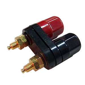 Plug-Jack Banana-Plugs Binding-Post Connector Terminals Couple Top-Selling Black Quality