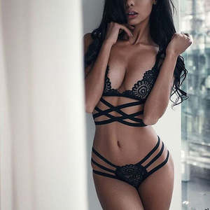 3edad7cd9de6 ETOSELL Sexy Lingerie Bra Set Underwear Lace