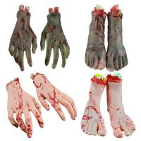 Halloween Broken Limbs Hand Foot Halloween Horror Bloody Props Party DIY Decoration Halloween Party Accessories 30