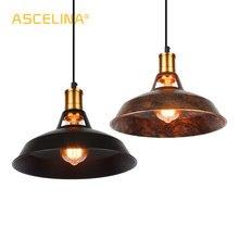 Винтажный промышленный подвесной светильник, светодиодная лампа лофта для ресторана/кафе/бара/дома, специальная креативная цепь лампы, подвесной светильник