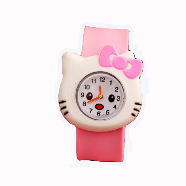 3D Eye Despicable Me minion Cartoon watch Precious Milk Dad Cute Children clock