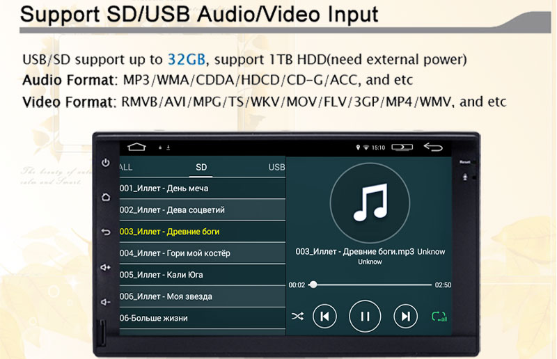 2 din 100% New universal Car Radio Double 2 din Car DVD Player In dash Car PC Stereo videop+Free Camera