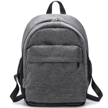 2017 Women Waterproof Canvas Backpacks Ladies Shoulder Bag Rucksack School Bags For Girls Travel Gray Blue Laptop Bags Red Black