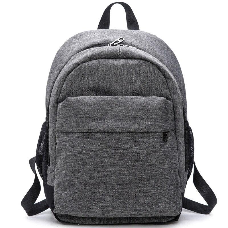 2017 Women Waterproof Canvas Backpacks Ladies Shoulder Bag Rucksack School Bags For Girls Travel Gray Blue Laptop Bags Red Black
