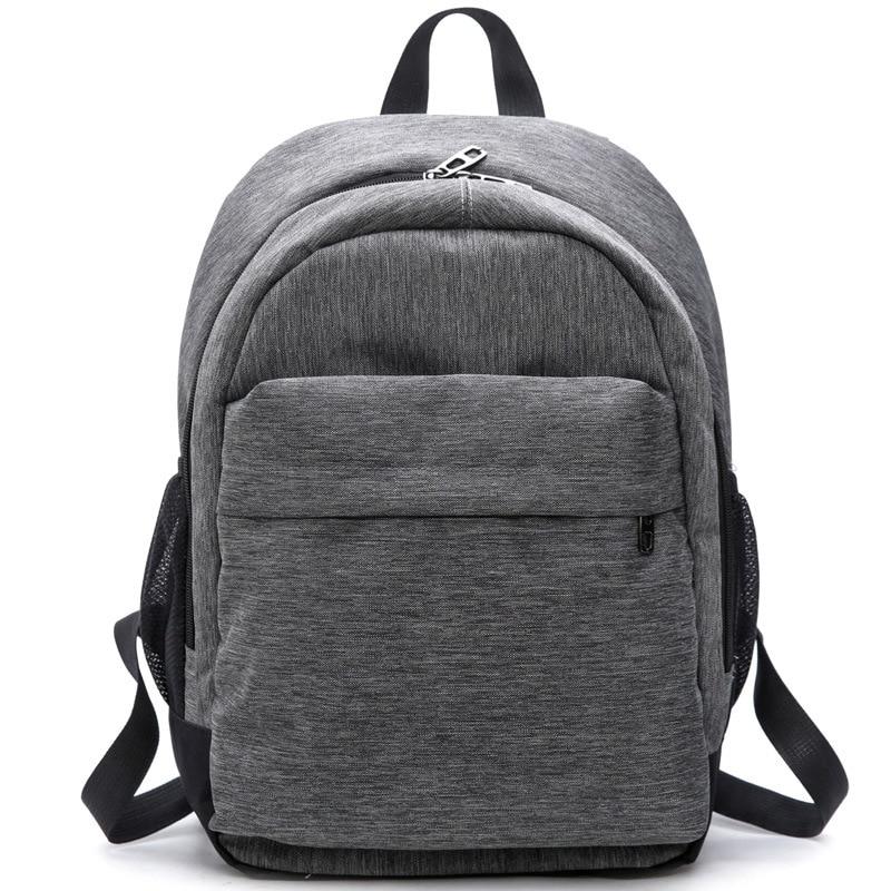 Women Waterproof Canvas Backpacks Ladies Shoulder Bag Rucksack School Bags For Girls Travel Gray Blue Laptop Bags Red Black