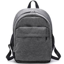 2018 Women Waterproof Canvas Backpacks Ladies Shoulder Bag Rucksack School Bags For Girls Travel Gray Blue