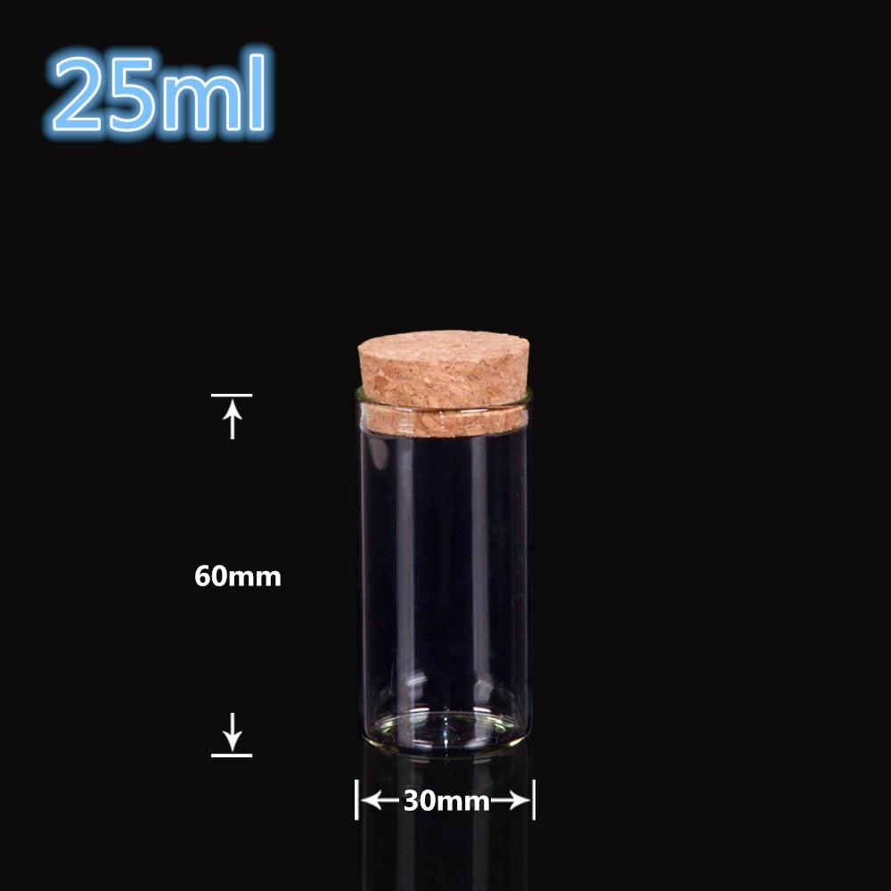 NEW 50pcs 12*9*10mm Small cork Small diameter glass stopper Tube plug