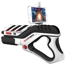 Mobile Phone Smart Bluetooth AR Game Gun Toy VR Remote Sensing Gamepad Outdoor Pistol Air Guns Creative Toys Gun for Android ios