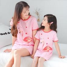 Новинка года; хлопковая ночная рубашка для девочек; детские пижамы; платье для маленьких девочек; Одежда для маленьких детей; одежда для детей; Большие Девочки ночные рубашки