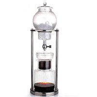 1pc 600ML Dutch Coffee Cold Brew Drip Ice Water Hand Coffee Maker Serve For 10 Cups